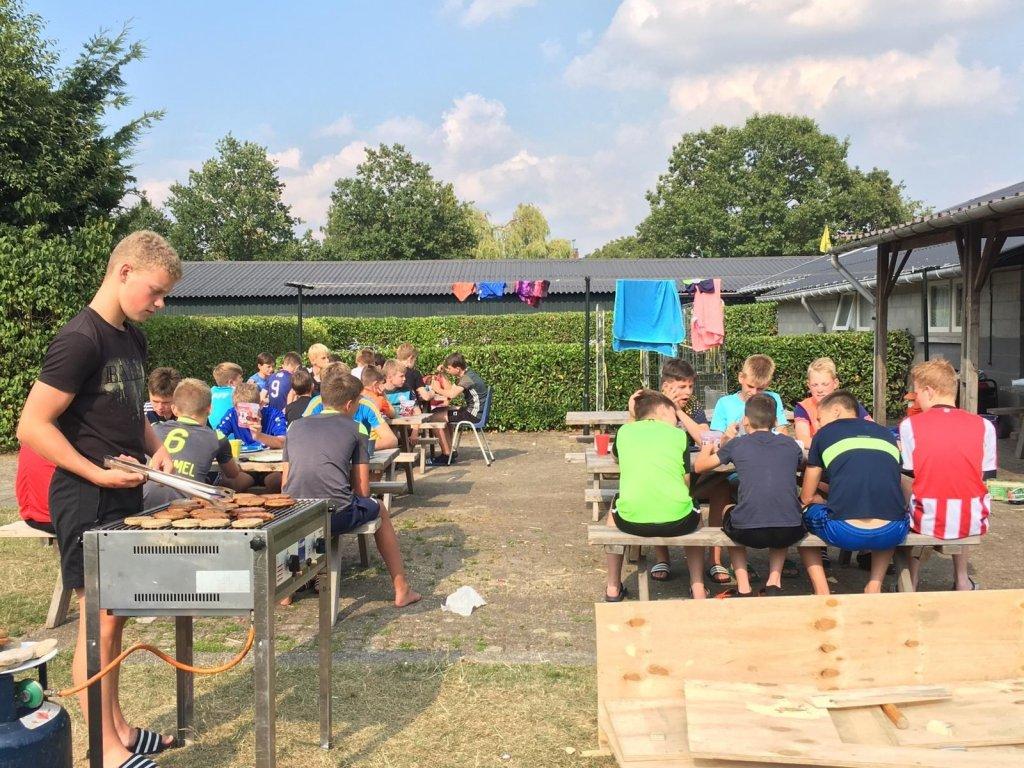 Kampeerboerderij De Reehoeve Groepsaccommodatie De Reebok te Bergeijk provincie Brabant